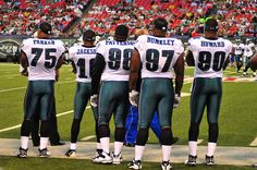 "Note: this photo was published as an illustration in a Sep 2009 blog titled Philadelphia Eagles via Trendfo."" It was also published in a Nov 1, 2009 blog titled ""Philly-NY Rivalry Weekend Continues: Eagles Host Giants."" And it was published in an und Another one of my favs!"
