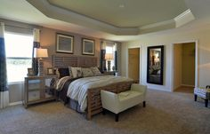 Love the double walk-in closets!!