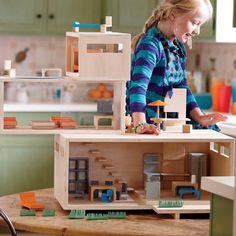 Modern Dollhouse (http://blog.hgtv.com/design/2012/11/27/daily-delight-modern-dollhouse/?soc=pinterest)