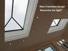 Details about Roof Lantern Glass Skylight For Flat Roof