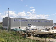 Portimao Shipyard, the place where the ships are being prepared to sink and become part of Ocean Revival underwater artificial reef.