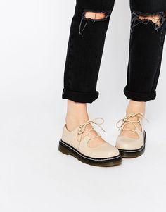 Image 1 ofASOS MAISIE Lace Up Flat Shoes