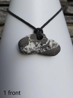 Stone Necklace, Washer Necklace, Hag Stones, Back Photos, Eye Stone, Photo Heart, Stone Heart, Stone Pendants, Pagan