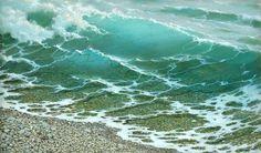 """Painting """"Vagues"""" by artist George Dmitriev"""