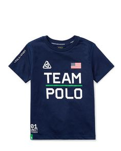 de9dc1949041 Performance Jersey Graphic Tee - Boys 2-7 Tees - RalphLauren.com