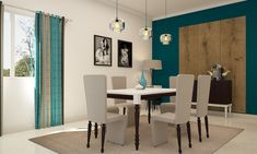 Uptown Chic Dining Room