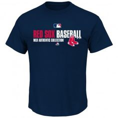 Boston Red Sox MLB Authentic Collection Team Favorite T-Shirt (Navy)