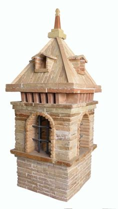 What An Intricate Design Of Brick Chimneys Never Have To