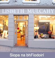 Lisbeth Mulcahy: The Weavers online woven scarves, throws and wall hangings - Green Street, Dingle