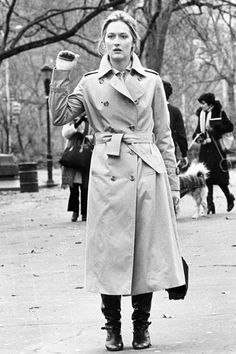 Meryl Streep in Kramer vs. Kramer, 1979.