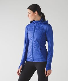Rush Hour Jacket.  We designed this transitional-season run jacket to have your back when you're crushing kilometres.