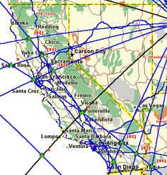 Magnetic Ley Lines in America | California ley lines_on vortices and ley lines,626 _Ten League Ley ...