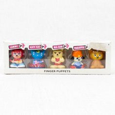 Parappa The Rapper Unjammer Lammy All Star Finger Puppet 5pc Set Figure JAPAN - Japanimedia