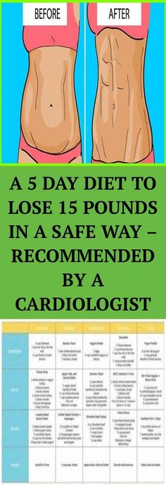 Cardiologist Suggests Diet: a Safe Way to Lose 15 Pounds - Healthy Magic Tricks Health And Fitness Expo, Health And Fitness Articles, Good Health Tips, Natural Health Tips, Health Tips For Women, Wellness Fitness, Health And Beauty Tips, Health Advice, 5 Day Diet