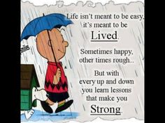 charlie brown in the rain - Google Search