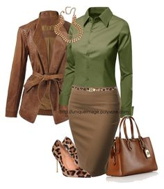 """Working Girl #17"" by uniqueimage ❤ liked on Polyvore"
