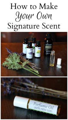Learn how to make your own signature scent perfume oil by blending different essential oils with a carrier oil. are in the right place about perfume diy Here we offer you the most beautiful pictures about the perfum Diy Perfume Recipes, Homemade Perfume, Perfume Diesel, Making Essential Oils, Essential Oil Uses, Essential Oil Carrier Oils, How To Make Oil, Perfume Making, Doterra Essential Oils
