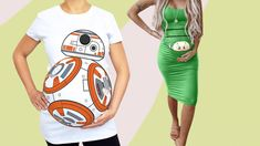 Halloween is right around the corner! Here are the best maternity Halloween costumes for pregnant women that are cute, funny and scary.