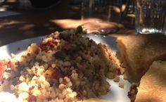 Insalata fredda di bulgur, pomodorini, feta #vegetarianfood #insalate