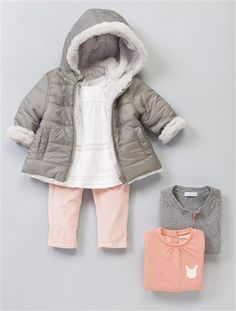 V tements hiver b b fille vetement b b pinterest - Vetement bebe fille fashion ...