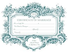 Keepsake Marriage Certificates - Free Graphics and Printables - TrulyTruly.net