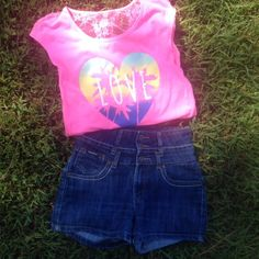 No Boundaries Tops - Bundle High Rise Jeans Size 5/6 and  Tops size S