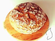 gluteeniton_pataleipä_resepti Bread Baking, Baked Potato, Camembert Cheese, Dairy, Gluten Free, Ethnic Recipes, Food, Baking, Glutenfree