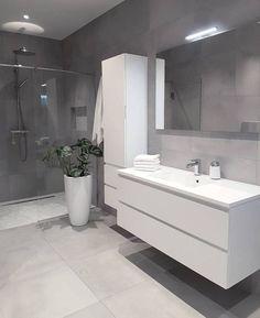 Grey bathrooms designs - 32 best bathroom designs images of beautiful bathroom remodel ideas to try 20 Grey Bathrooms Designs, Bathroom Designs Images, Modern Bathroom Design, Bathroom Interior Design, Ikea Interior, Contemporary Bathrooms, Toilet And Bathroom Design, Interior Ideas, Bathroom Layout