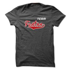 (Tshirt Amazing Gift) Team Fenton  Teeshirt of year  Fenton are you tired of having to explain yourself? With these T-Shirts you no longer have to. Team Fenton. Grab yours TODAY! If its not for you you can search your name or your friends name.  If you need to design clothes according to your requirements. Please send email to azzshirt@gmail.com. Thanks!  Tshirt Guys Lady Hodie  SHARE and Get Discount Today Order now before we SELL OUT Today  #tshirt #pinteres #Tshirtamerican #Tshirtjob…