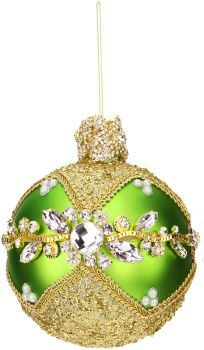 Multi Jeweled Ball Ornament #36-54164 5"