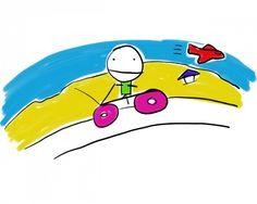 Cycling To Airport Beach, St Maarten Bart Simpson, Caribbean, Cycling, Beach, Fictional Characters, Bicycling, Biking, Riding Bikes