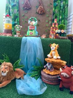 LION GUARD Birthday Party Ideas | Photo 1 of 35 First Birthday Themes, Disney Birthday, 2nd Birthday Parties, Lion King Party, Lion King Birthday, Trunker Treat Ideas, Christening Themes, Teacher Party, Lion King Baby Shower
