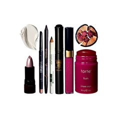 Kate Walsh's Favorites Inside Celebrity Makeup Bags InStyle.com ❤ liked on Polyvore featuring makeup, beauty, accessories, cosmetics and fillers