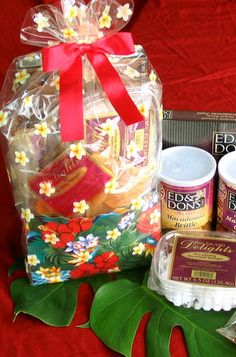 Hawaiian Gift Baskets and Bags - With Our Aloha