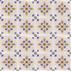 Moroccan Encaustic Cement Pattern Pre Sealed 33c