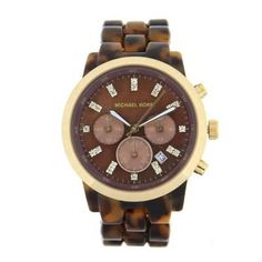 33% Off was $250.00, now is $167.89! Michael Kors Women's MK5216 Chronograph Tortoise Watch + Free Shipping
