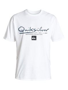 quiksilver, Men's Gut Plaid T-Shirt, WHITE (wbb0)