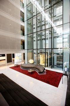 African Pride 15 on Orange by Marriott hotel Pause Area by Source Interior Brand Architecture
