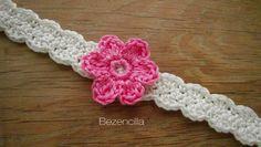 Crochet baby headband_cinta bebe ganchillo SDC10080