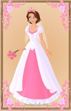 Rapunzel { Wedding Dress } by kawaiibrit.deviantart.com