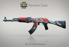AK-47 | Point Disarray | Revolver Case | CS:GO | SKIN