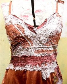 Oh, to sew like this! Boro, Diy Fashion, Fashion Beauty, Reuse Clothes, Creative Textiles, Altered Couture, Refashion, In This World, Boho Chic