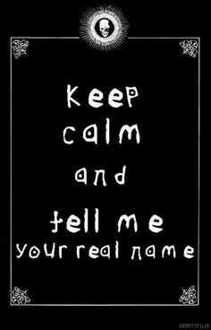 Death note keep calm