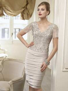Veni Infantino 98924 outfit in Silver - £685