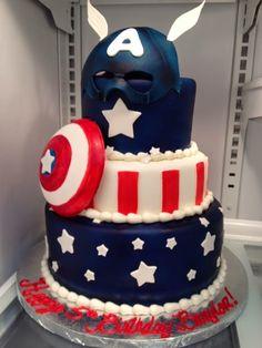 Resultado de imagen para tortas del capitan america