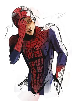 Nope. I am not obssesed with Amazing Spiderman. Nope.