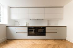 Graham terrace kitchen miele appliances by Powell Picano - North London bespoke kitchen makers.