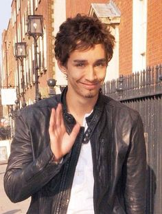 Robert Sheehan...not the conventional heart throb, but I love the Irish accent!