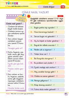 2. Sınıf Soru Bankası Türkçe Süper Kitap