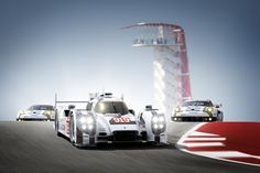 A total of seven works race cars from Porsche are racing at the FIA WEC and TUDOR Championship in Austin this weekend. Are you ready for the big family gathering at the Circuit of The Americas?
